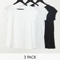River Island 3 pack of t-shirts in multi