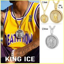 King Ice(キングアイス) ネックレス・チョーカー 送税込【DEATH ROW RECORDS X KING ICE】MEDALLION SPINNER☆2色