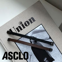 ASCLO(エジュクロ) ブレスレット ASCLO Daily Leather Bracelet (2color)