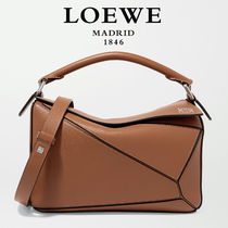 ∞∞ LOEWE ∞∞ Puzzle small leather shoulder バッグ☆Tan