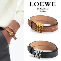 ∞∞ LOEWE ∞∞ Anagram embellished leather ブレスレット☆