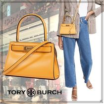 【Tory Burch】リーラジウィルプチバッグ ハンドバッグ イエロー