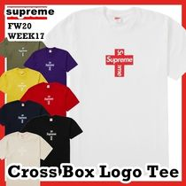 Supreme Cross Box Logo Tee FW 20 WEEK 17