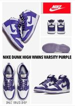 ★大人気★NIKE DUNK HIGH WMNS VARSITY PURPLE