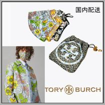 Tory Burch☆PRINTED FACE MASK☆ポーチ付き3枚セット☆送料込