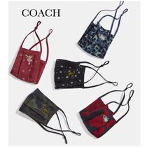 *Coach*セール♪フェイスマスク/Face Mask with Rexy,Uni,Sharky
