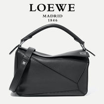 ∞∞ LOEWE ∞∞ Puzzle small leather shoulder バッグ☆Black