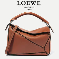 ∞∞ LOEWE ∞∞ Puzzle mini leather shoulder バッグ☆Tan