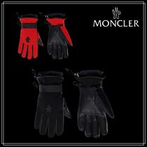 3 MONCLER GRENOBLE★スキーグローブ★ナイロン/レーヨン★2色★