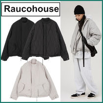 【Raucohouse】 Quilted reversible short jacket★安全発送