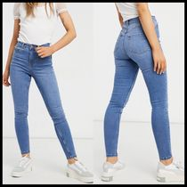 New Look lift and shape skinny jeans in mid blue