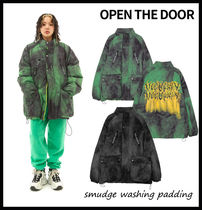 【OPEN THE DOOR】smudge washing padding ★ 2色