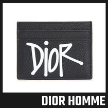 【DIOR HOMME】DIOR AND SHAWN ロゴ カード ホルダー