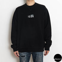 関税込DSQUARED2 Reflective Mini Icon Crewneck スウェット