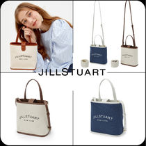 [JILLSTUART] ★韓国大人気★Logo color blend cotton tote bag