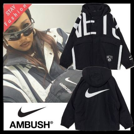 トリプルコラボ 超激レア!Nike x AMBUSH NBA Collection Jacket