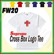 17 week FW 20 Supreme Cross Box Logo Tee