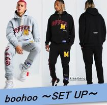 □boohooMAN グラフィックプリントセットアップ