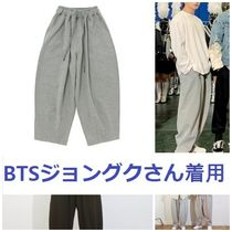 A NOTHING☆BTSジョングク☆HEAVYTERRY BALLOON SWEAT PANTS_2色