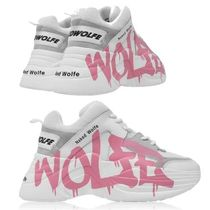 NAKED WOLFE GRAFFITI TRAINERS スニーカー