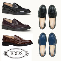 TOD'S☆LOAFERS IN LEATHER レザーローファー☆送料込
