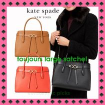 SALE エレガントスペード*KATE SPADE*toujours LARGE satchel