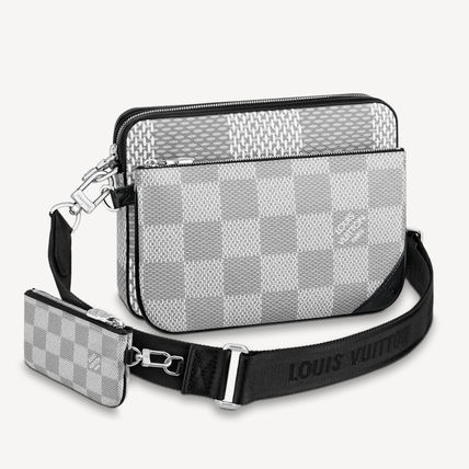 Louis Vuitton ショルダーバッグ 【直営店】ルイヴィトン☆ダミエ グラフィット3D TRIO MESSENGER(3)