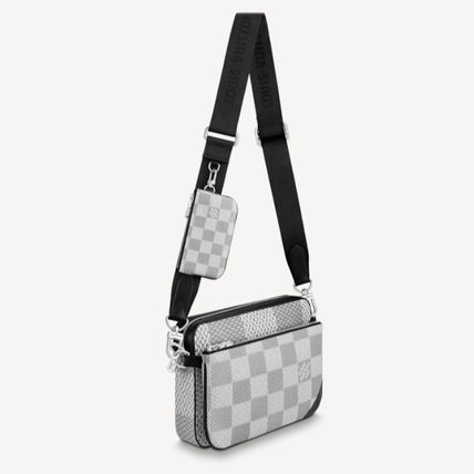 Louis Vuitton ショルダーバッグ 【直営店】ルイヴィトン☆ダミエ グラフィット3D TRIO MESSENGER(5)