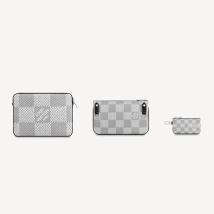Louis Vuitton ショルダーバッグ 【直営店】ルイヴィトン☆ダミエ グラフィット3D TRIO MESSENGER(8)