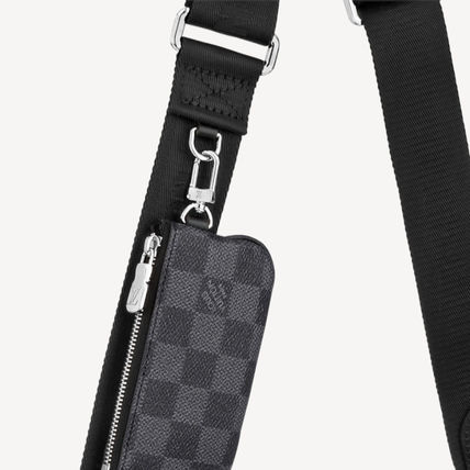 Louis Vuitton ショルダーバッグ 【直営店】ルイヴィトン☆ダミエ グラフィット3D TRIO MESSENGER(10)
