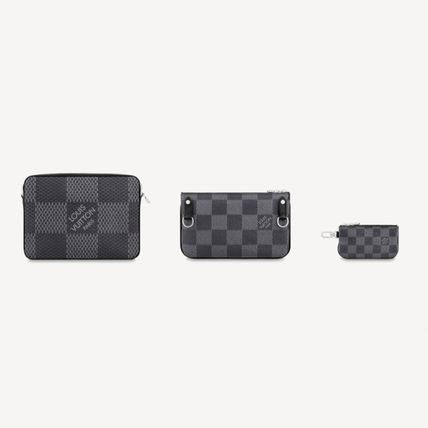 Louis Vuitton ショルダーバッグ 【直営店】ルイヴィトン☆ダミエ グラフィット3D TRIO MESSENGER(14)