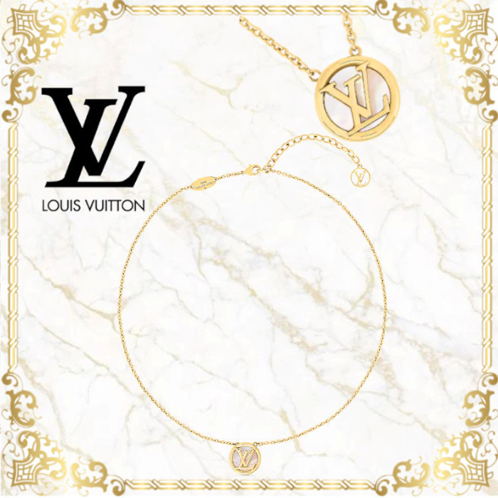 20AW☆直営店買付☆ Louis Vuitton コリエ・L TO V ネックレス (Louis Vuitton/ネックレス・ペンダント) M80259