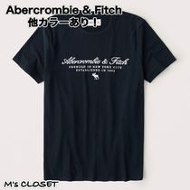 Abercrombie & Fitch(アバクロ)Embroidered Logo Tee