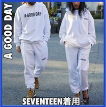 SEVENTEEN着用★A GOOD DAY★兼用 AGD SIGNATURE ロゴパンツ