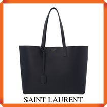 SAINT LAURENT SHOPPING BAG E/W IN SUPPLE LEATHER