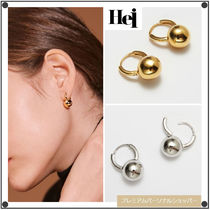 日本未入荷Heiのball one-touch earring 全2色