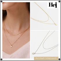 日本未入荷Heiのlittle coin layered necklace 全2色