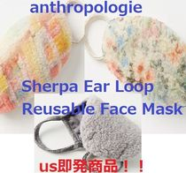 ♪antropologie♪Sherpa Reusable Mask♪ショパー付き♪即発♪