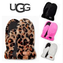 【UGG】ALL OVER FAUX FUR MITTEN ☆ファー ミトン☆