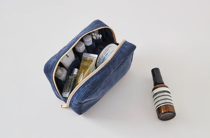 ithinkso メイクポーチ 【ithinkso】DAY MAKE-UP POUCH★コーデュロイ/追跡付(8)
