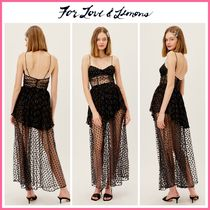 2021Cruise新作 ☆For Love & Lemons* Adella Maxi Dress