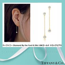 [Tiffany] Diamond By the Yard 0.39ct 18Kゴールド ピアス