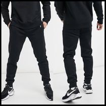 River Island jersey joggers with print