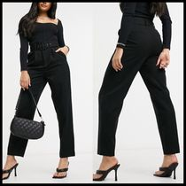 Vero Moda tailored trousers with belt