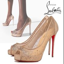 Christian Louboutin  ルブタン Very Strass 120 mm パンプス