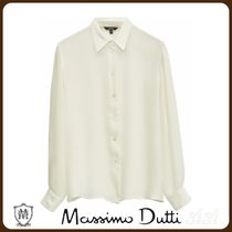MassimoDutti♪PLAIN SHIRT MADE OF WARM FABRIC