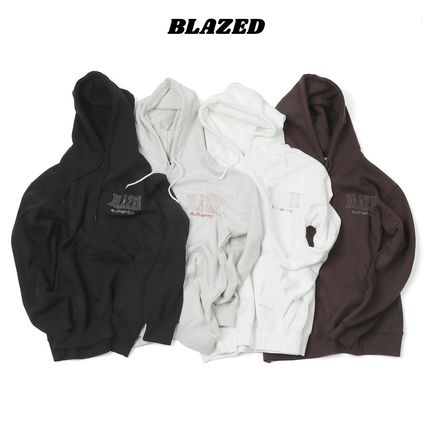 【BLAZED】Cutout Sweat Hoodie 4Color
