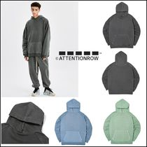 ◆ATTENTIONROW◆curve tunnel pigment overfit hoodie◆人気◆