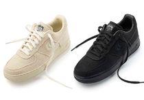 """STUSSY × NIKE AIR FORCE 1 LOW """"TRIPLE BLACK""""& FOSSIL STONE"""