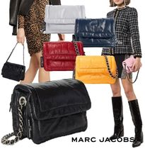 "MARC JACOBS ""The Mini Pillow Bag"" レザー&チェーン2WAYバッグ"